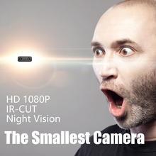 2019 Новое поступление IR-CUT 1080 P малый Камера 1080 P Full HD мини Камера микро Инфракрасный Ночное видение камера с детектором движения r25