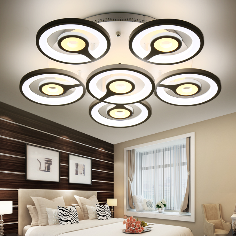 Rectangle Remote control living room bedroom modern led ceiling lights luminarias para sala dimming led ceiling lamp райс х предел мечтаний роман