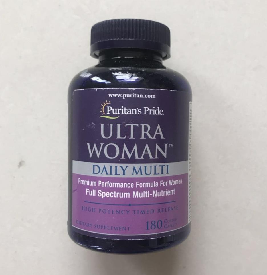 Ultra Women Daily Multi premium performance formula for women Full spectrum multi-nutrient 180 pcsUltra Women Daily Multi premium performance formula for women Full spectrum multi-nutrient 180 pcs