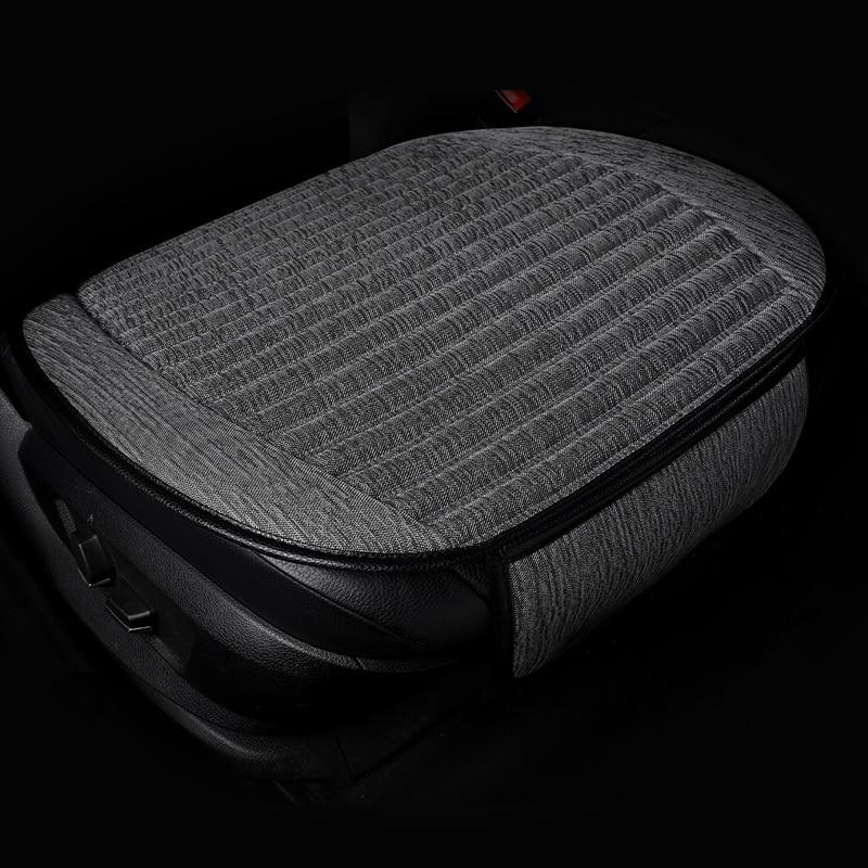 2018 новый автомобиль подушки, один задний, три комплекта цвета конопли одно место четыре сезона Удобная дышащая подушка.