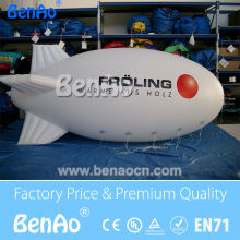 AO062 Free shipping Attractive cheap inflatable advertising balloons / big inflatable air blimp/ air ship/ helium balloon