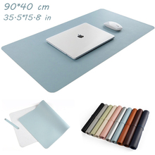 Big Mouse Pad 35.5*15.8 inch Locking Edge Natural Rubber for Computer for PC Office Gaming Gamer Carpet Large Mouse pad