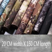 Hohe Quaity 20cm x 150 cm Taktische Wasserdicht self adhesive elastische Multifunktions camouflage tuch