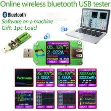 Color LCD USB tester DC Digital voltmeter voltage current meter ammeter detecto qc2.0 qc3.0 charger cable resistance indicator