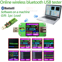 Color LCD USB Tester DC Digital Voltmeter Voltage Current Meter Ammeter Detecto Qc2 0 Qc3 0