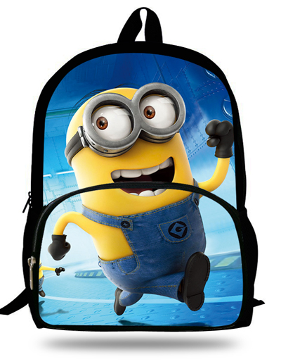 2019 Hot Sale Anime School Bags 16-Inch Cute The Minions Backpack For Kids Cartoon Print Bag For For Children Boys Girls Gifts2019 Hot Sale Anime School Bags 16-Inch Cute The Minions Backpack For Kids Cartoon Print Bag For For Children Boys Girls Gifts