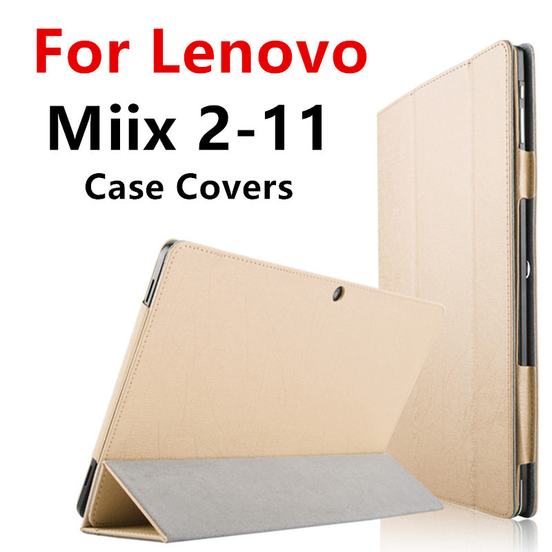 Case For Lenovo Miix 2 11 miix2-11 Protective Protector Smart cover Leather Tablet PC For MIIX2 11 2-11 PU 11.6 inch Sleeve Case new tablet laptop cover for lenovo 12 2 miix 510 miix5 miix510 sleeve case pu leather protective skin stylus as gift