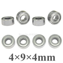 8pcs Ball Bearings 4x9x4mm For Traxxas HPI Axial Redcat RC Car Upgrade Parts Spare Replacement