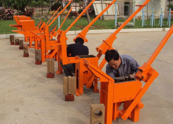 concrete block making machine/Best Selling Small Machine to