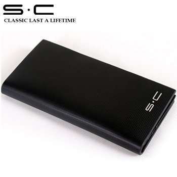 S.C Free Shipping Travel Wallet Promotional + Name Branded Wallet + 100% Genuine Leather wallet men / factory price sale wallet
