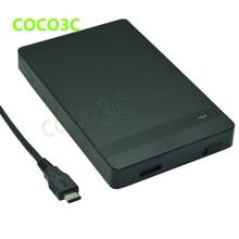 Tool Free USB 3.1 Type-C SATA 3.0 External Box USB-C to 2.5″ HDD SSD Mini Enclosure SATA Hard Drive Case