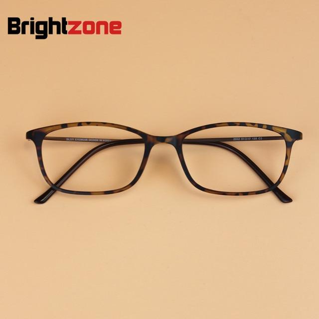 4316b388bb9 Ultra-thin Korean Men Vintage BLSY Titanium Tungsten Small Square Glasses  Frame Women Myopia Prescription