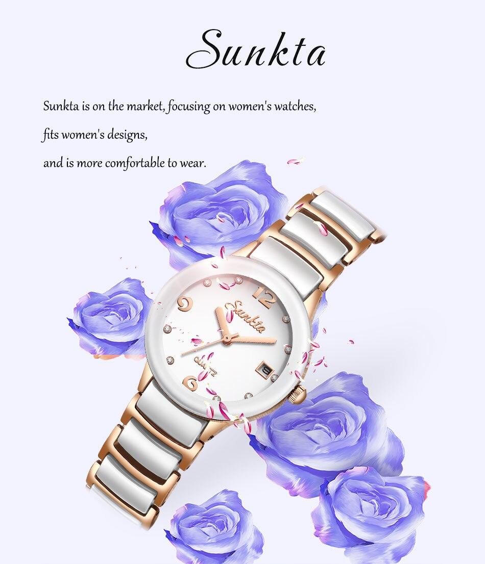 dial design de moda pulseira relógios senhoras