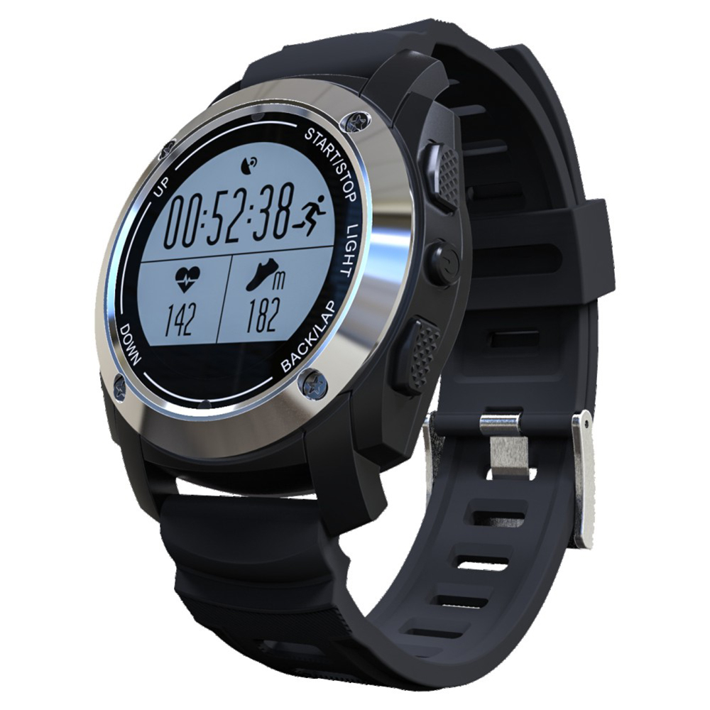 S928 GPS Tracker Bluetooth Sports Smart Watch Outdoor Band MTK2502 IP66 Waterproof with Heart Rate Monitor Pressure Passometer