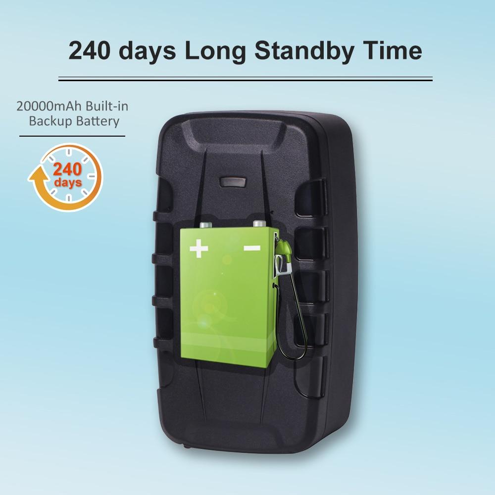 TKSTAR 3G GPS Tracker 240 jours veille étanche aimant voiture chenille GSM localisateur voix moniteur Geofence logiciel de suivi gratuit - 2