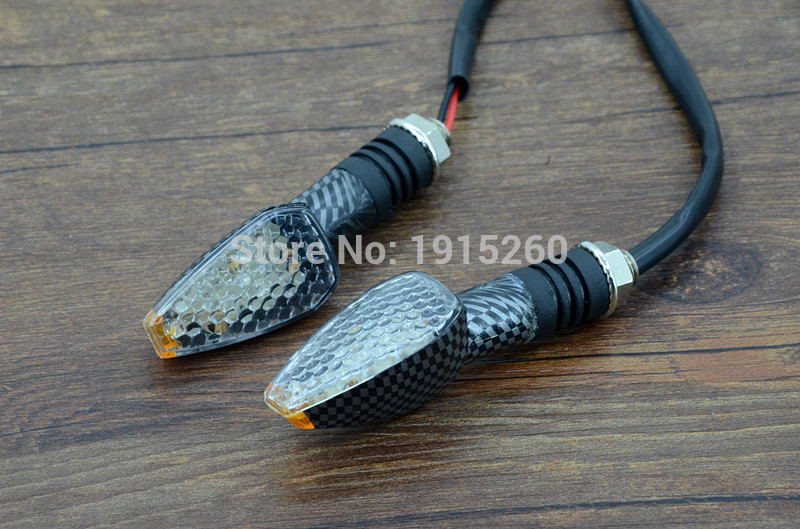Universal 14 LED Motorcycle Turn Signal Light Indicators Blinker Flashers 12V 2W 127LM For For Yamaha Honda Kawasaki Suzuki