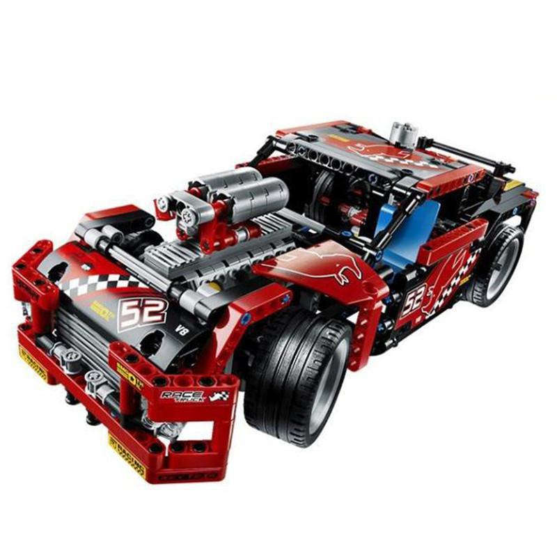608pcs 2 In 1 Race Truck Car 2 In 1 Transformable Firefighting Truck Model Legoings Building Block Sets Toys 2 in 1 transformable assembly building blocks car for children puzzling toys