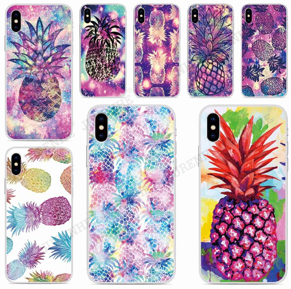 Fundas Ananassen Soft TPU Phone Case Voor Wiko View 2 Gaan Max Prime Pro XL Lenny 5 4 Sunny 2 3 Mini Wim Lite Cover Capa Coque