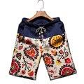 Мужчины Пляжные Шорты Бренд Быстрое Высыхание Мужчин большие Шорты Короткие брюки Плюс Размер М-5XL талии 70-115 СМ Boardshort Бермуды Mascul 9 цвет