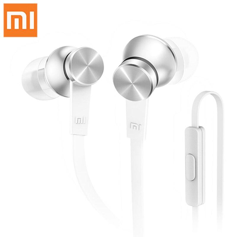 100% Original Xiaomi Piston Hybrid Earphone Music Mi Headsets In-Ear With Mic For iPhone Xiaomi Mi 3 4 Redmi Samsung MP3 Player