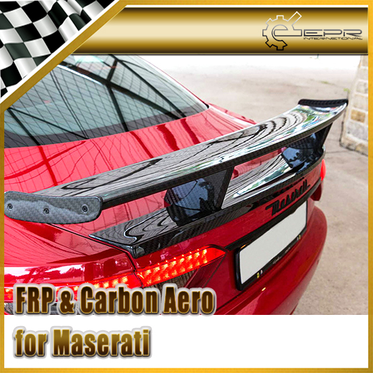 Car Styling For Maserati Gran Turismo Mansory Style Carbon Fiber GT Spoiler (For GT)