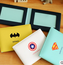 Novelty Super Hero Cartoon Silicone Card Cover Bus Bank Id Card Case Holder