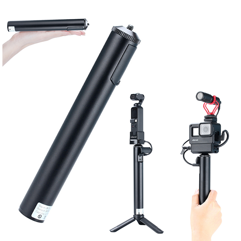Ulanzi BG-1/BG-2 Handheld <font><b>Battery</b></font> Bank Power Pack Charge Extension Handgrip for DJI Osmo Pocket <font><b>GoPro</b></font> <font><b>Hero</b></font> 8 7 6 5 4 Osmo Action image
