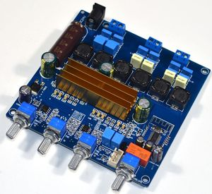 Image 5 - TPA3116 bluetooth 4.2オーディオデジタルアンプボード2.1サブウーファーアンプ50 + 50ワット + 100ワット低音ハイファイトーンボード