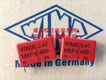 2019 hot sale 10pcs/20pcs Germany WIMA MKP4 400V 0.47UF 400V 474 470n P: 22.5mm Audio capacitor free shipping цены онлайн