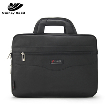 Waterproof Business Men 14 inch Laptop Briefcase Bag High Quality Casual Handbag Mens Office Bags for Computer Shoulder Bags