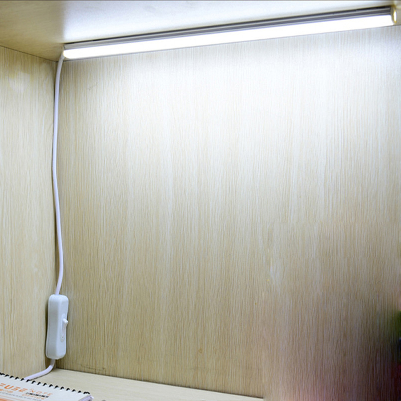 50cm Under Cabinet Closet Night Light 5v USB Cable LED Strips