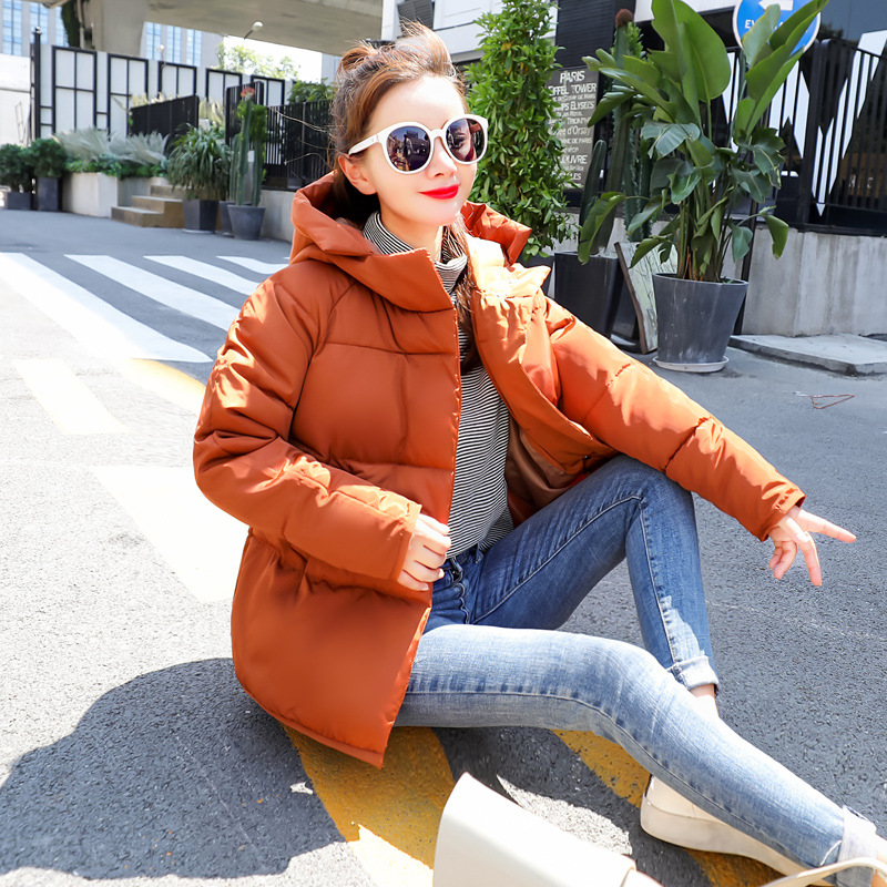 Autumn Winter   Jacket   Women Coat Fashion Female   Jacket   Women   Basic     Jackets   Wadded Jaqueta Feminina Inveno