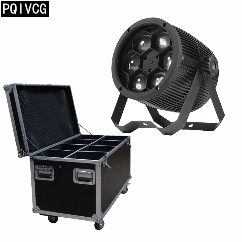8pcs/6x12w Bee Eyes par light with flight case rgbw 4in1 DMX512 Bee Eyes beam light professional stage lighting equipment8pcs/6x12w Bee Eyes par light with flight case rgbw 4in1 DMX512 Bee Eyes beam light professional stage lighting equipment