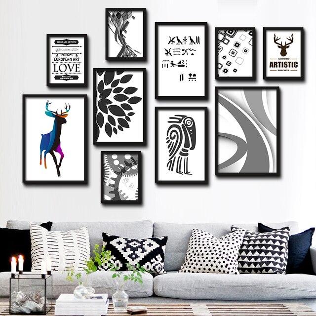 Cuadros decorativos cartel Arte pintura simple moda abstracto amor ...