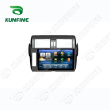 Quad Core 1024*600 Android 5.1 Car DVD GPS Navigation Player Car Stereo for Toyota PRADO 2014 Deckless Bluetooth Wifi/3G