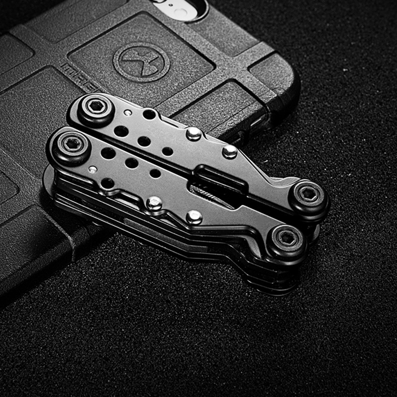 где купить Tactical Multi-tool Pliers Multi-purpose Combination Tool EDC Portable Folding Tool дешево
