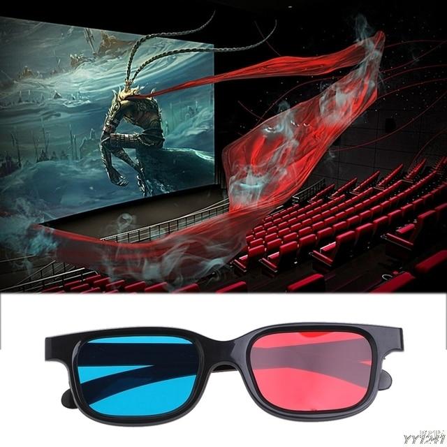 11ea33e768a9d 2018 mode universel type 3D lunettes rouge bleu Cyan 3D lunettes Anaglyph 3D  plastique lunettes