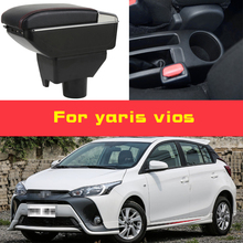 Leather Car Armrest for toyota yaris vios