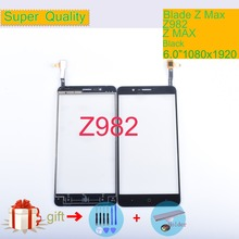 Original Touch Screen Digitizer For ZTE Blade Z Max Z982 Touch Panel Touchscreen Lens Front Glass Sensor NO LCD Z 982 6.0