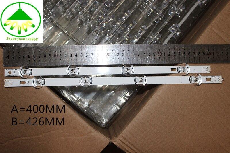 """Image 2 - 825mm LED Backlight Lamp strip 8 leds For LG INNOTEK DRT 3.0 42""""_A/B TYPE REV01 REV7 131202 42 inch LCD Monitor 2sets-in Light Beads from Lights & Lighting"""
