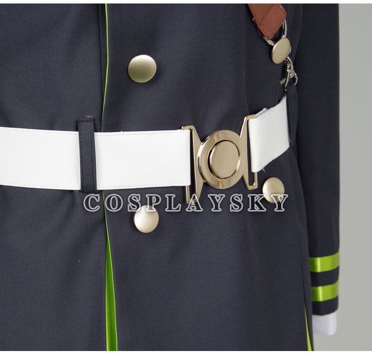 Seraph of the End Owari no SerafuYuichiro Hyakuya Uniform Cosplay Costume_08