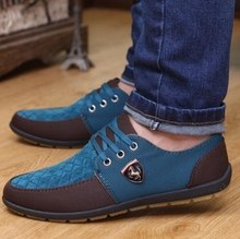 In 2017 the new casual shoes canvas shoes men's fashion brand fashionable suede leather apartment Zapatos DE sell like hot cakes