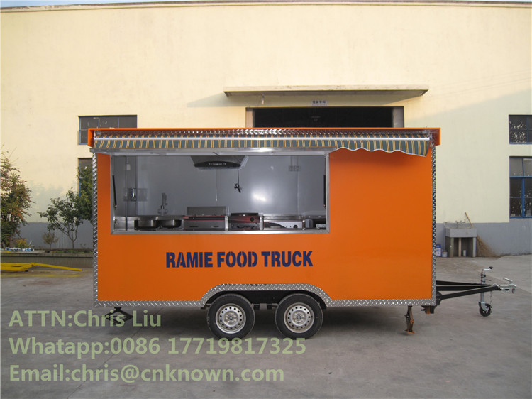 Mobile Restaurant Truck For Selling Fast Food Food Trucks PopcornFood Trucks Mobile Food Trailer