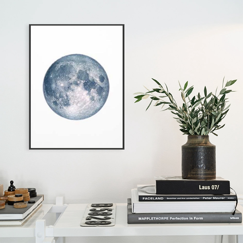 Moon-Phases-Poster-Print-Full-Moon-Half-Moon-Wall-Art-Canvas-Painting-Night-Sky-Space-Galaxy (2)