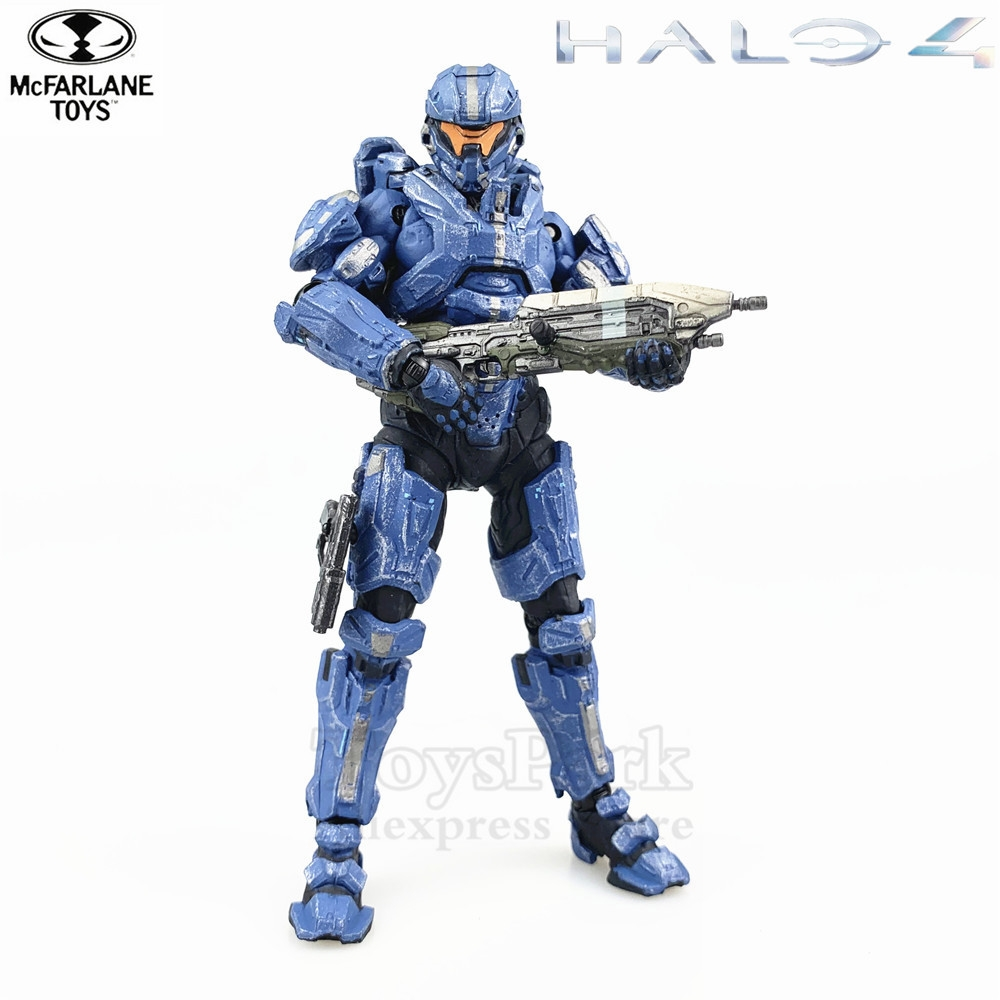 Halo 4 Series 3 Spartan Thorne Gabriel 5 Action Figure Original Mcfarlane Figuras Toys Doll Collectible LooseHalo 4 Series 3 Spartan Thorne Gabriel 5 Action Figure Original Mcfarlane Figuras Toys Doll Collectible Loose