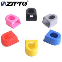 ZTTO Crankset Crank Protective Sleeve Protector Mountain Bike Road Fixed Gear Bicycle Cover Boots 6 Colors