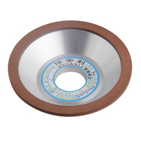 Diamond Grinding Wheels 150 180 240 320 Grits 100mm Grinding Cup Cutting Disc For Carbide Milling