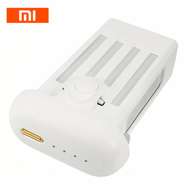 Hot Sale Xiaomi Mi 1080P 4K Drone RC Quadcopter Spare Parts 17.4V 5100mAh Battery For RC Quadcopter Parts original xiaomi mi drone 4k 1080p version rc fpv quadcopter spare parts 17 4v 5100mah lipo battery for camera drones accessories
