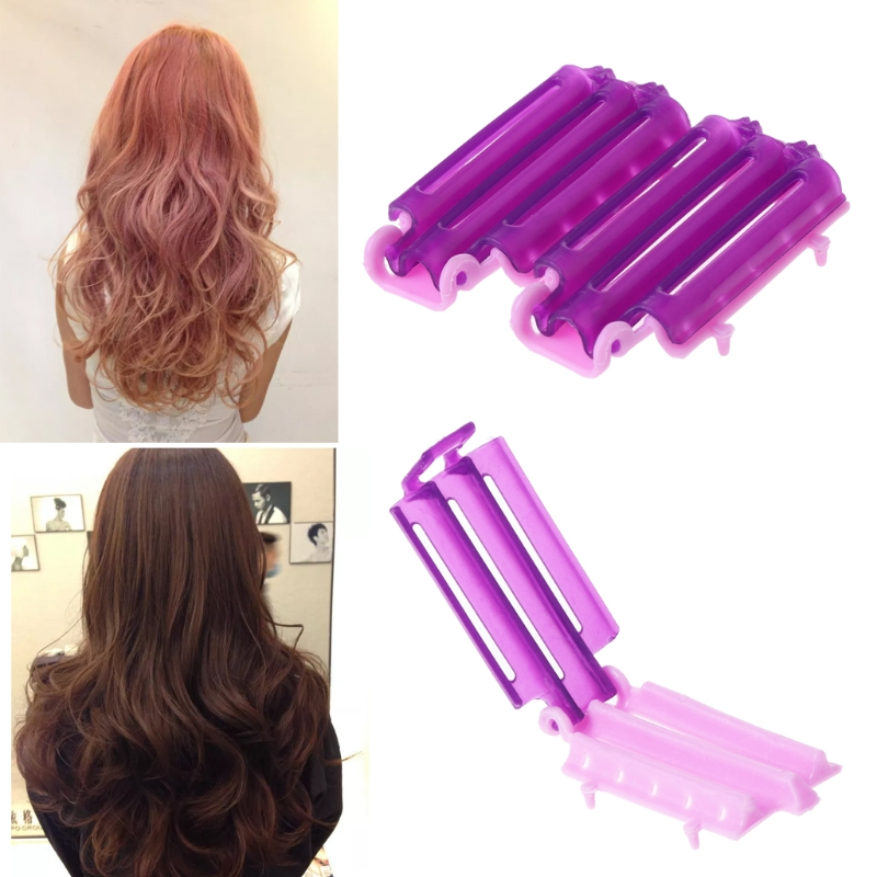 MISS ROSE 36pcs Hairdressing Styling Wave Perm Rod Corn Hair Clip Curler Maker DIY Tool