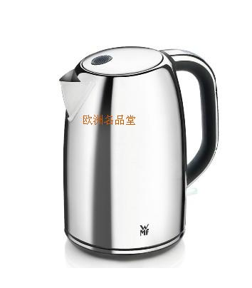 original wmf 1 6 stainless steel deluxe electric heating kettle 6130220102 in electric kettles. Black Bedroom Furniture Sets. Home Design Ideas
